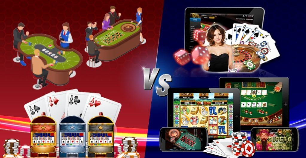 Traditional casinos vs. online casino