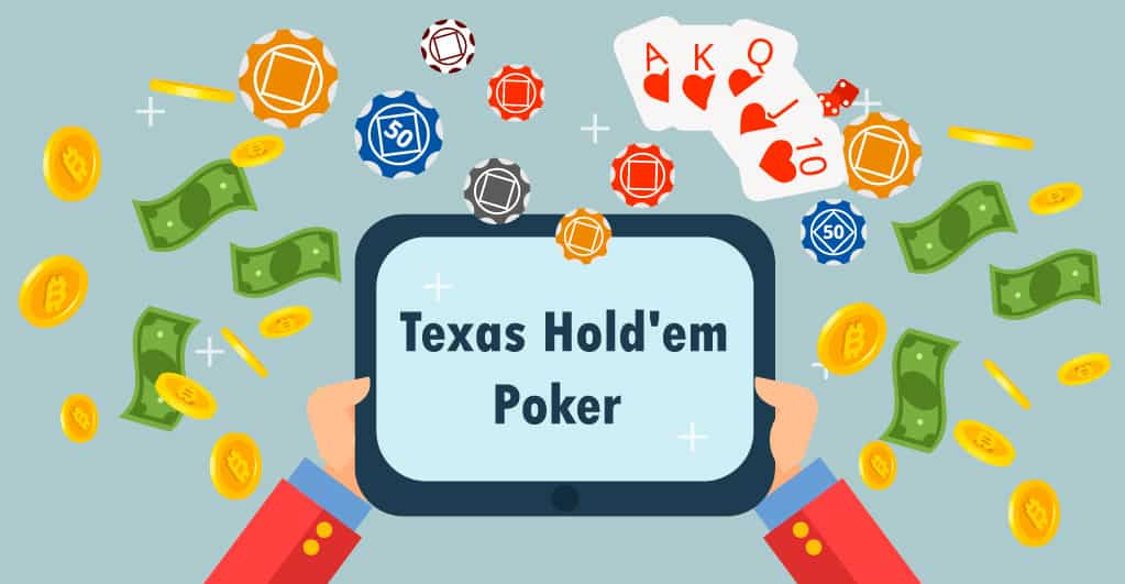 Play Texas Hold'em Poker to win Bitcoin