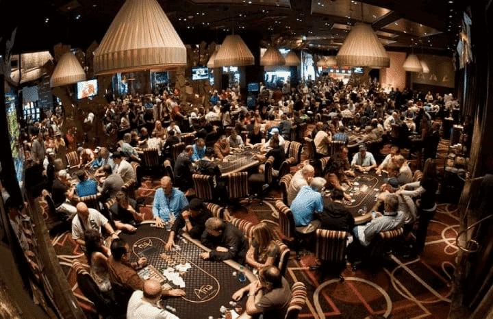 Poker Room Organization at ARIA
