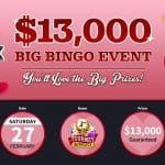 Vegas Crest Launches the Biggest Monthly Bingo Event