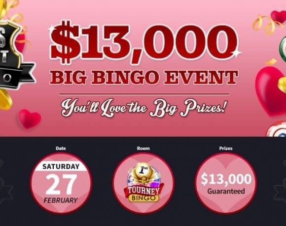 Vegas Crest Launches the Biggest Monthly Bingo Event