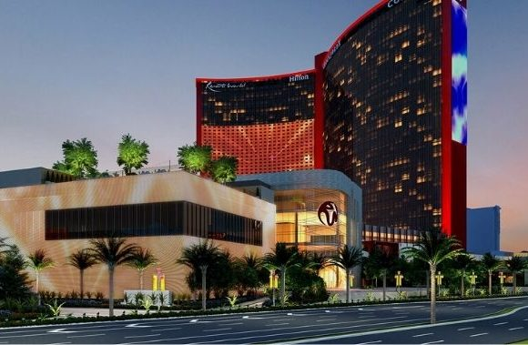 Construction on the Las Vegas Strip Has Been Altered in Preparation for the Grand Opening of Resorts World